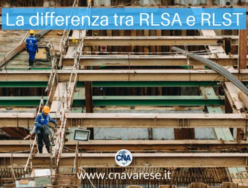 La differenza tra RLSA e RLS Territoriale