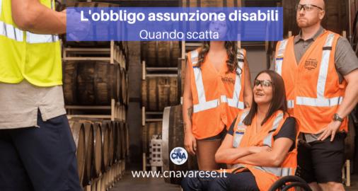 obbligo assunzione disabili