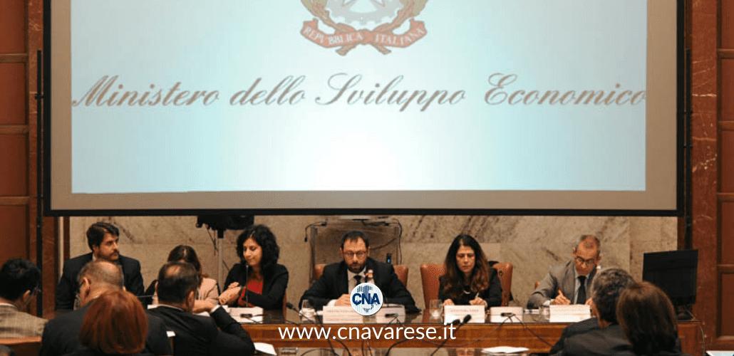 coronavirus incontro Ministro Sviluppo Economico CNA