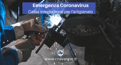 coronavirus cassa integrazione artigianato