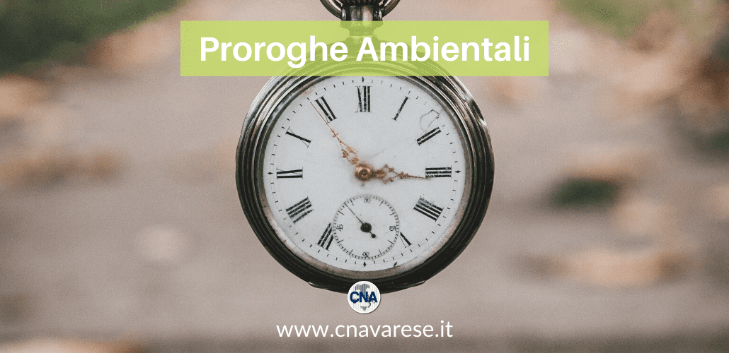 proroghe ambientali