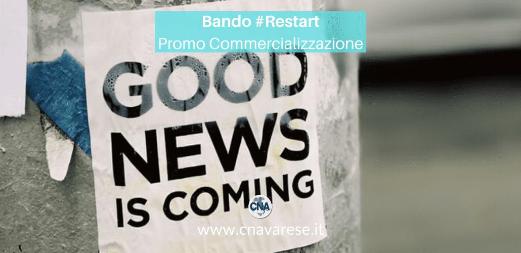 bando #Restart promo commercializzazione