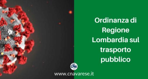 ordinanza regione lombardia trasporto