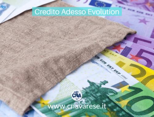 Credito Adesso Evolution, il finanziamento alle imprese