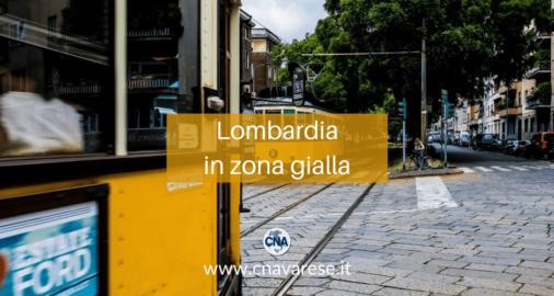 Lombardia in zona gialla