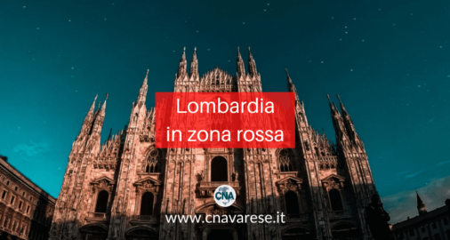 Lombardia in zona rossa
