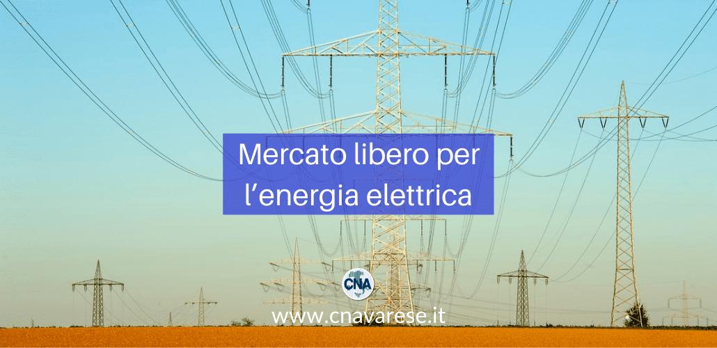 Mercato libero per l'energia elettrica