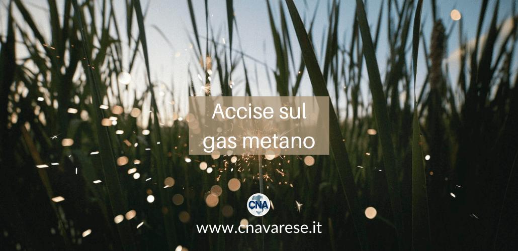 accise gas metano