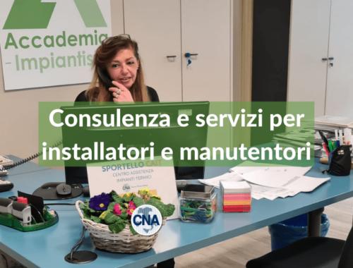 servizio CNA Varese per gli impiantisti - cait