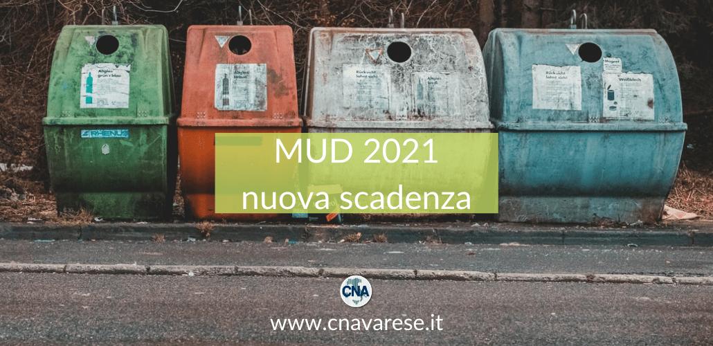 MUD 2021 scadenza