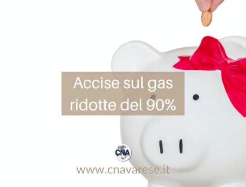 accise gas ridotte