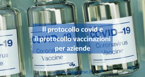 protocollo covid vaccinazioni aziende