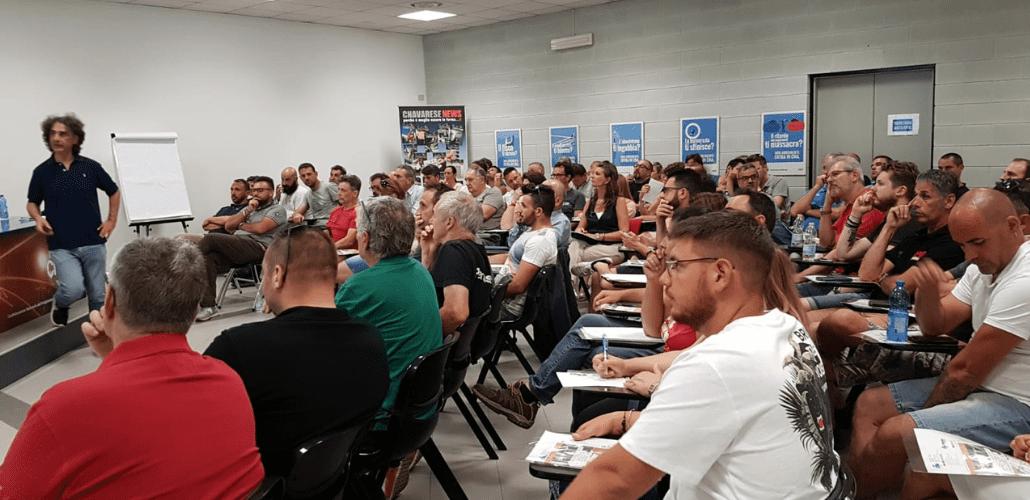Impiantisti Varese riunione con Gualtiero Fiorina | CNA Installazione e Impianti