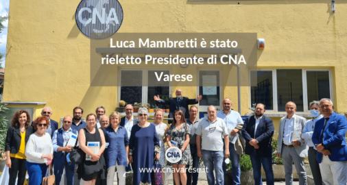 Luca Mambretti Presidente CNA Varese