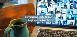 Formazione gratuita con Regione Lombardia